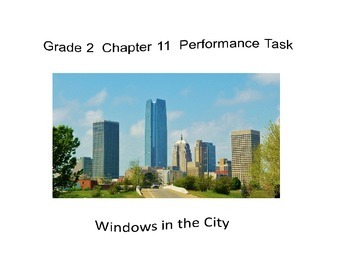 2nd Grade  Chapter 11 Math Performance task