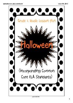 Grade 2 Halloween Music Lesson Plan