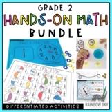Grade 2 Hands-on Math Pack BUNDLE