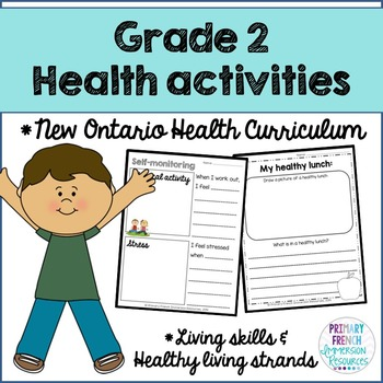Grade 2 Health - Living Skills and Healthy Living Strands (English)
