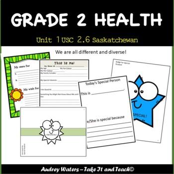 Grade 2 Health - Unit 1 Part 4 USC 2.6  SK Curriculum