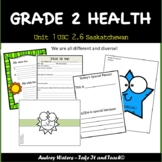 Grade 2 Health - Unit 1 Part 4 USC 2.6  Saskatchewan Curriculum