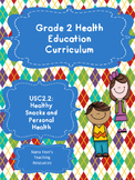 Grade 2 Health: Unit 2: Healthy Snacks and Personal Health