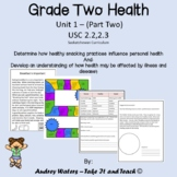 Grade 2 Health - Unit 1 Part 2  USC 2.2 and 2.3 (Saskatchewan)