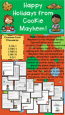 "Grade 2 Holiday Math Enrichment Inquiry Based Project - ""Cookie Mayhem"""