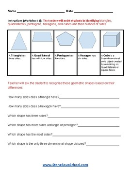Grade 2 - Idaho -  Geometry  - Common Core