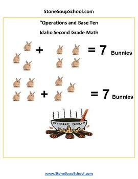 Grade 2 - Idaho - Operations and Base Ten - Common Core