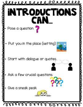 Grade 2 Information Writing Anchor Charts