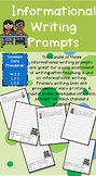 Grade 2 Informational Writing Prompts - With Rubric