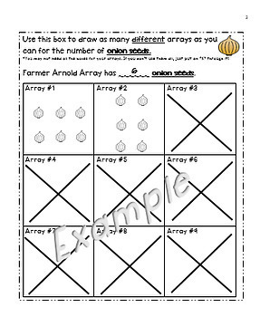 "Grade 2 Arrays, Even and Odd Numbers Enrichment Project - ""Farmer Arnold Array"""
