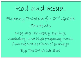 Grade 2 Journeys: Roll and Read Unit 1