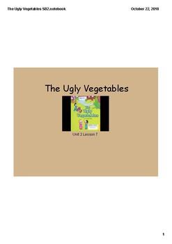 Grade 2 Journeys The Ugly Vegetables Lesson Days 1-4