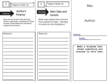 Grade 2 Journeys: Trifold Bundle (Units 1-6)