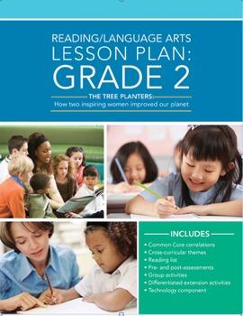 Grade 2 Language Arts Leveled Lesson Plan: Inspiring Women and the Environment