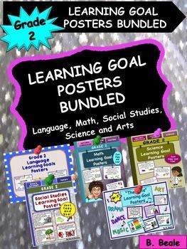 Grade 2 Learning Goal Posters - BUNDLED