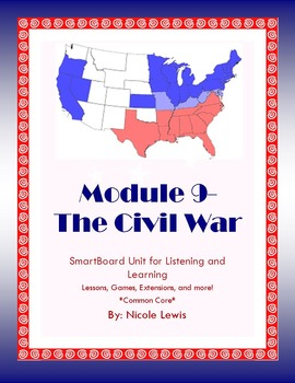 Grade 2-Domain 9-Civil War- Common Core-Listening and Learning-History