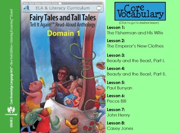 Grade 2 Listening and Learning Strand Domain 1 Vocabulary