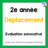Grade 2 Location & Movement Test (French)