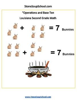 Grade 2 - Louisiana - Operations and Base Ten - Common Core