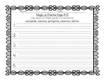 Grade 2 - Magic e