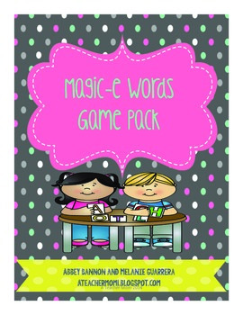 Grade 2 Magic -e Game Pack
