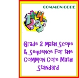 Grade 2 Math Curriculum for the Common Core Math Standards