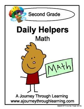 Grade 2 Math Daily Helper Lapbook
