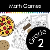 Grade 2 Math Games with Dice