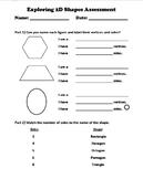 Grade 2 Math Geometry 2D Formative Assessment