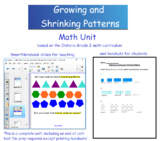 Grade 2 Math - Growing and Shrinking Patterns Unit - Ontar