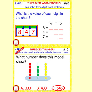 2.NBT.1 Grade 2 Math Interactive Test Prep—3-Digit Numbers 2.NBT.1