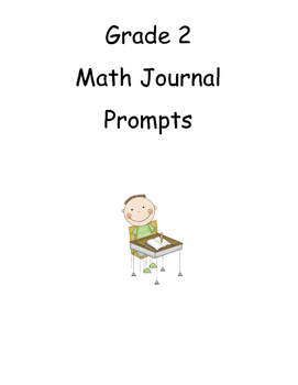 Grade 2 Math Journal prompt labels