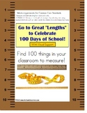 Grade 2 Math Measurement Activity (Common Core) with Visuals 100 Days of School