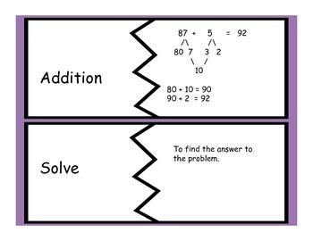 Grade 2, Math, Module 1 Vocabulary