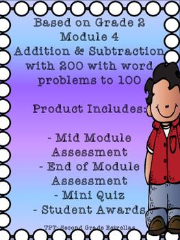 Math module 4 teaching resources teachers pay teachers grade 2 math module 4 mid and end assessments bonus mini quiz fandeluxe Choice Image