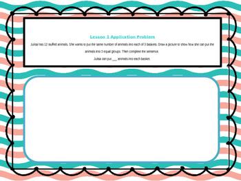 2nd Grade Math Module 6 Application Problem Bundle