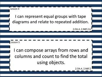 Grade 2 Math Module 6 Learning Targets
