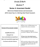 Grade 2, Math Module 7 REVIEW & ASSESSMENT w/Ans keys (pri