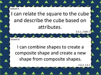 Grade 2 Math Module 8 Learning Targets