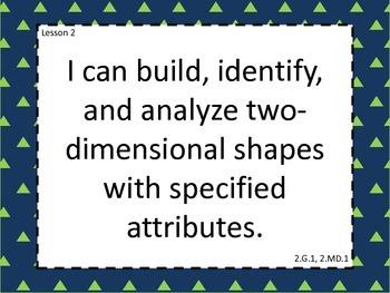 Grade 2 Math Module 8 Learning Targets Large Format