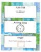 Grade 2 Math Module 8 Vocabulary Cards!