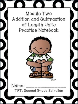 Grade 2 Math Module Practice Notebook PREVIEW