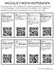 Grade 2 Math Module QR Codes for Videos