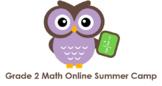 Grade 2 Math Online Summer Camp