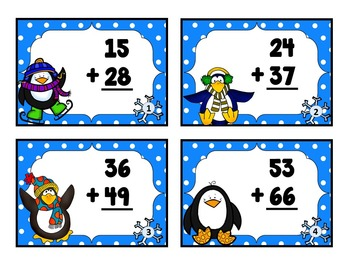 Winter Math Bundle - 2nd Grade