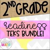 Grade 2 Math TEKS-Aligned Task Cards: Readiness Standards Bundle!