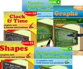 Grade 2 Math Units Bundle