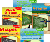 Grade 2 Math Units Bundle (Distance Learning)