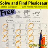 Grade 2 Math Worksheets Solve and Find