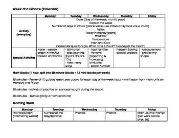 Grade 2 Math Year Plan
